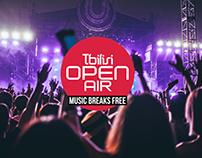 Tbilisi Open Air - UI Design Concept