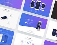 Faded - App Showcase WordPress theme on ThemeForest