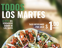 TacoBar's Taco Tuesday Flyer