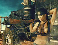 Mad Max - Furiosa - Digital Art/Photo Project