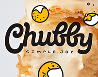 """Chubby""—doughnut holes café branding"