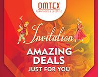 Flyer Design   Omtex Furnishers & Lifestyles