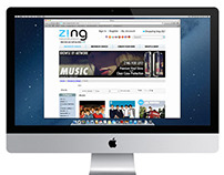 Zing Homepage Banners