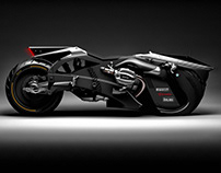 ''Cavaliere Oscuro'' Customized Bmw R9T''