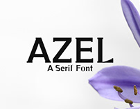 Azel - Free Serif Font