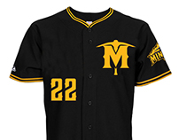 Sussex County Miners Alternate Jersey Design