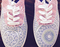 ::Cotton Candy-Shoe Design::