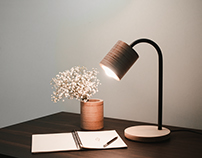 TABLE LAMP C-LIGHT