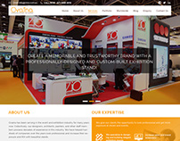 Ovaina Exhibution Stand Design Company website