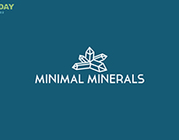 Minimal Minerals / 1 logo a day project #02