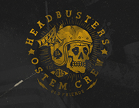 HEADBUSTERS x OSTEM CREW LookBook / Old Friends 2015