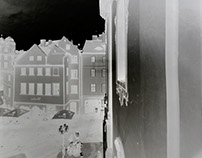 Giant Pinhole: 43x 63inches