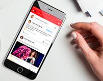 App Design iOS - iPhone