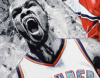 Foot Locker // NBA All-Star 2015 Poster Artwork