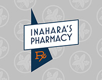 Inahara's Pharmacy Branding