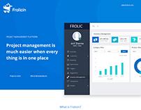 FrolicIn Dashboard Screen