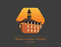Oklahoma State University building icons
