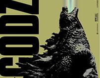 Godzilla Newsprint