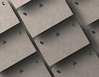 Brains And Concrete - Brand identity
