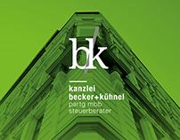 Becker + Kühnel Steuerberater - Logo & Branding
