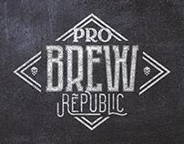 Pro Brew Republic | Brand designing