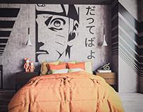 Narutoned Bedroom
