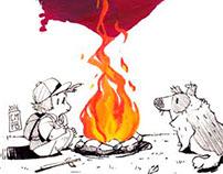 Warm Night - Illustration