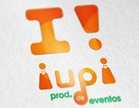 Diseño de Identidad | iupi - producción de eventos