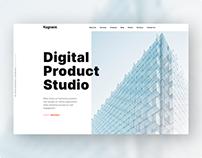 Company Website Design - UI/UX