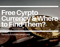 Free cyrpto currency and where to find them?