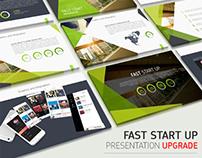Fast start up presentation UPGRADE