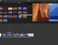 Video editing projects