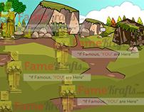 2D RPG MAP : Hill Side