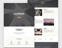 Lumina - Creatives & Business Elementor Template Kit