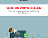 Design Your Creativity into Reality !!