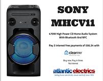 SONY MHC-V11 Home Audio System