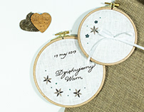 Embroidery #Wedding 03