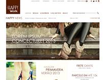 Happy Walk New Online Store