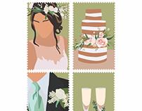 Wedding Stamp Design