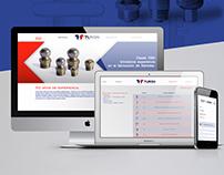 Metalúrgica Turon - Restyling Logo + Diseño Web
