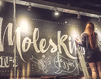 chalklettering // moleskine gastrobar