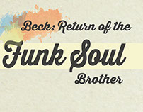 Beck: Return of the Funk Soul Brother