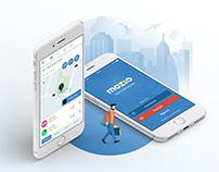 Mozio App —UX/UI , Wireframes, Prototypes