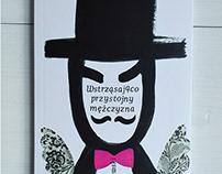Wstrząsająco przystojny mężczyzna / book design