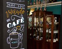 Café 31 | Parede + Posca