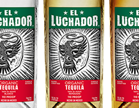 El Luchador packaging design
