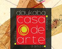 Daukaba: Casa de Arte Branding