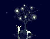 Moon Tree.