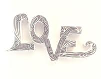Typography - LOVE