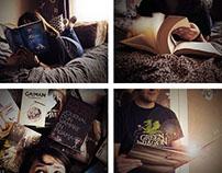 Projet photographie - La lecture